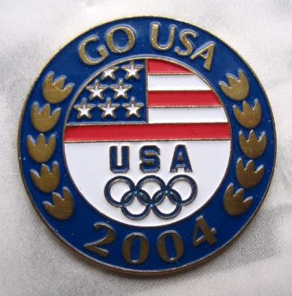 GO USA - 2004 Olympics Pin