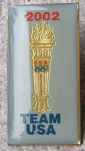 2002 Olympics Pin - Team USA