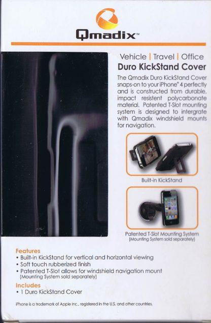 Qmadix Duro KickStand Cover - box back