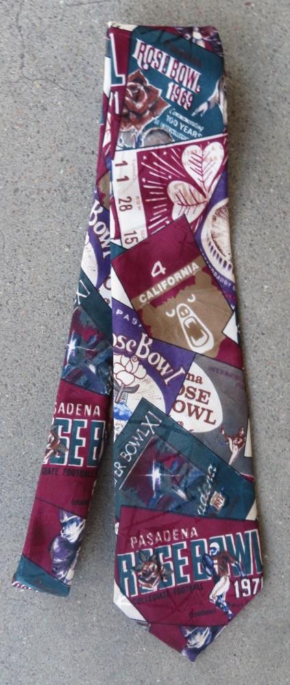 Rose Bowl Neck Tie