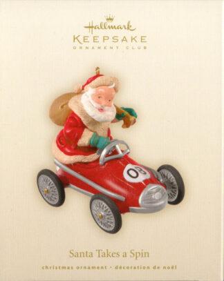 Santa Takes a Spin