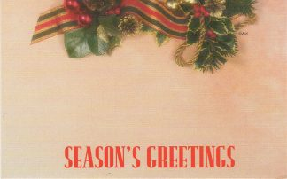 Season's Greetings - garland