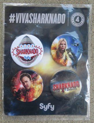 Sharknado 4 buttons