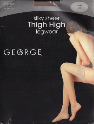 Silky Sheer Thigh High Legwear
