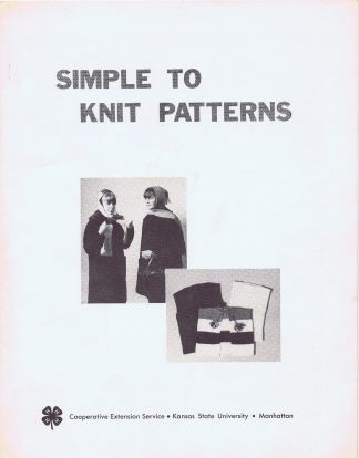 Simple to Knit Patterns
