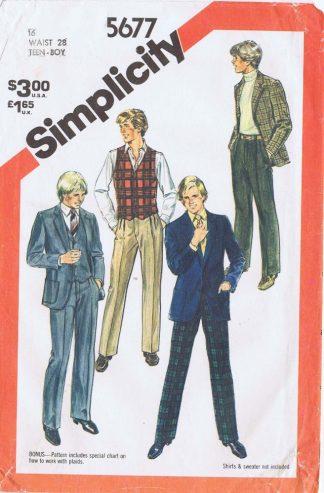 Simplicity 5677