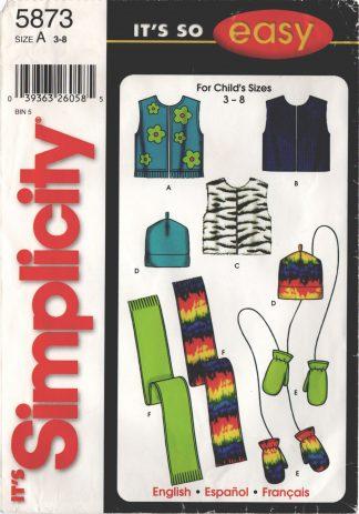 Simplicity 5873