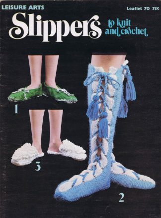Slippers to Knit and Crochet