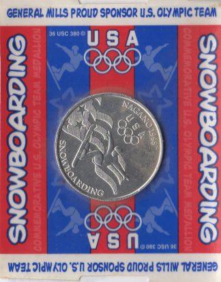 Snowboarding Coin