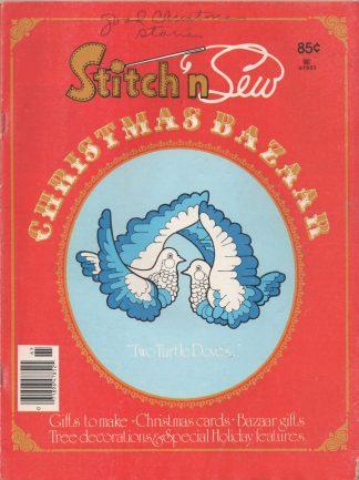 Stitch 'n Sew 1976 Christmas Bazaar