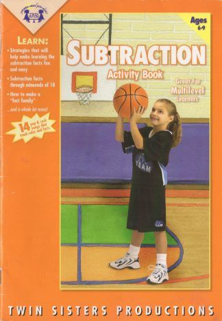 Subtraction Activity Book