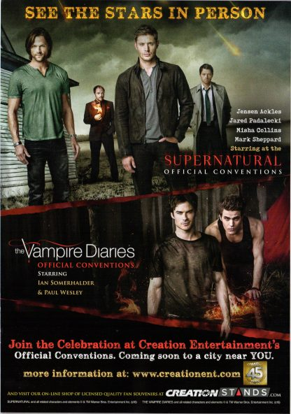 TV Guide Comic-Con Special - Back Cover