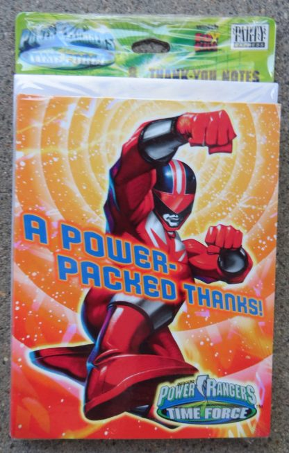 Power Rangers Thank-You Notes