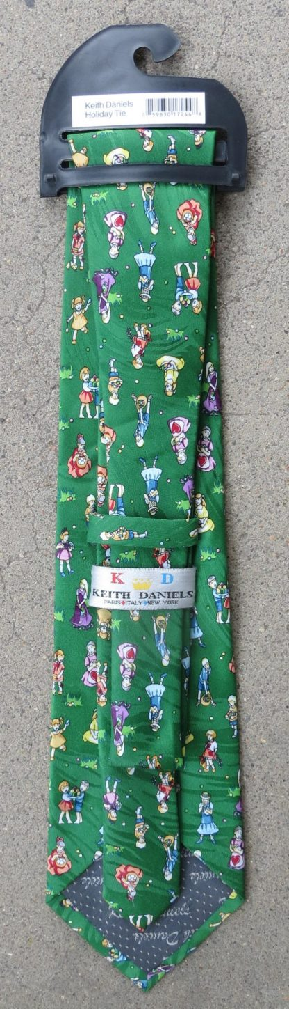 Easter Egg Hunt Neck Tie - back