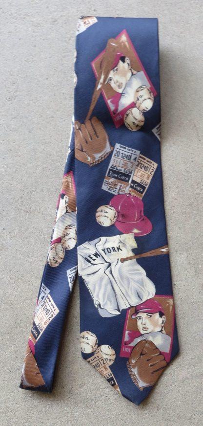 New York Baseball Necktie