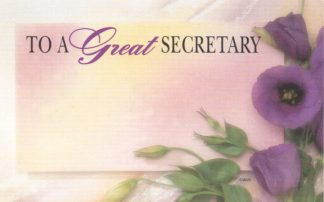 To A Great Secretary