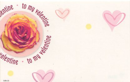 To My Valentine - rose & hearts