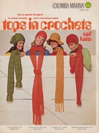 Tops in Crochets and Knits
