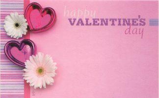 Happy Valentine's Day - daisies & hearts