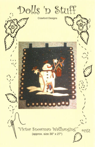 Victor Snowman Wallhanging