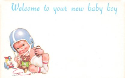 Welcome To Your New Baby Boy