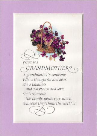 What Is A Grandmother?