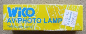 Wiko AV/Photo Lamp BVE 120V-625W