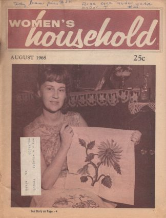 Woman's Household - August 1968