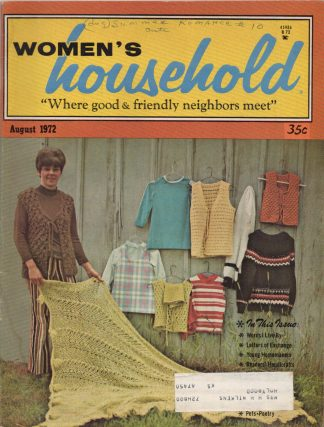 Woman's Household - August 1972