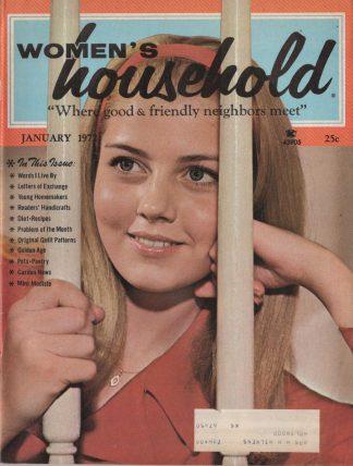 Woman's Household - January 1972