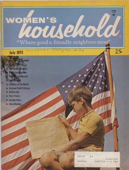 Woman's Household - July 1972