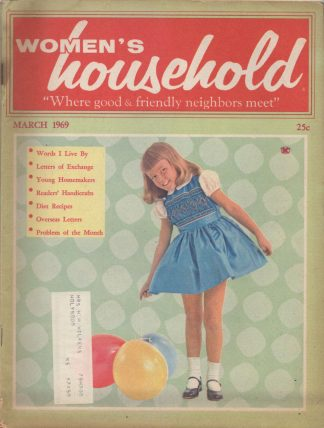 Woman's Household - March 1969