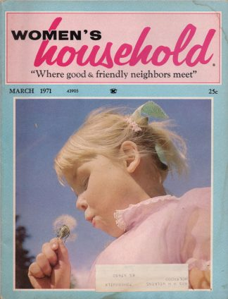 Woman's Household - March 1971