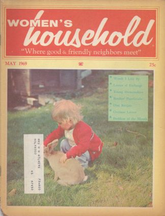 Woman's Household - May 1969