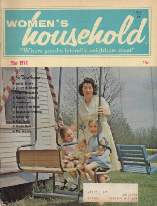 Woman's Household - May 1972