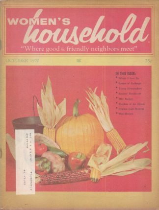 Woman's Household - October 1970