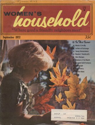 Woman's Household - September 1972