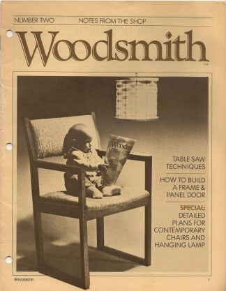 Woodsmith, No. 2, March 1979