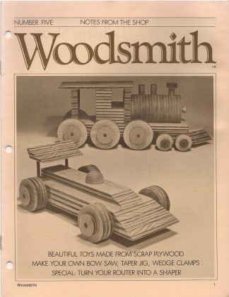 Woodsmith, No. 5, September 1979