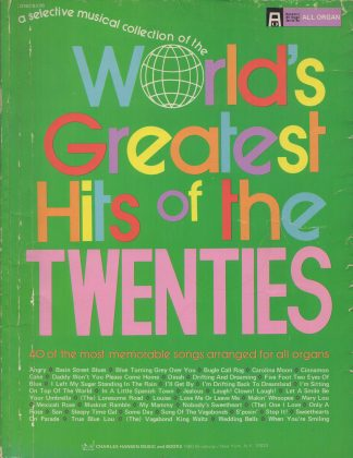 World's Greatest Hits of the Twenties